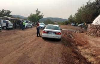 Muğla'da Yangın Bölgesine Giden Yollarda Jandarma Denetimi