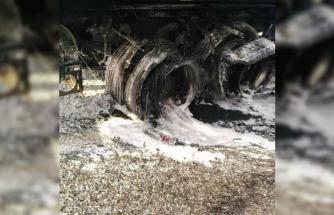 Su Tankeri Marmaris'te Alevlerin Arasında Kalarak Yandı
