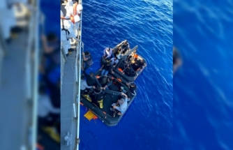 Datça'da 21 Düzensiz Göçmen Kurtarıldı