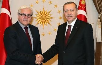 Erdoğan, Almanya Cumhurbaşkanı Steinmeier'le Konuştu
