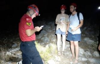 Fethiye'de Kaybolan 2 Tatilciyi Jandarma Ekipleri Buldu