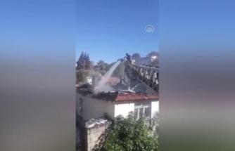 Fethiye'deki Evde Çıkan Yangın Hasara Neden Oldu