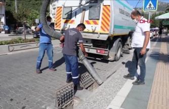 Marmaris'te Su Taşkınlarına Karşı Temizlik Seferberliği Başlatıldı