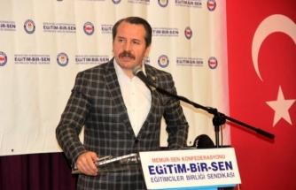 Memur-Sen Genel Başkanı Ali Yalçın Menteşe'de