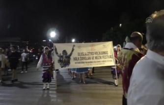 Uluslararası Halikarnas Halk Dansları ve Müzik Festivali Başladı