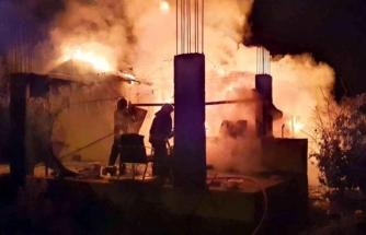 Köyceğiz'de Toparlar'da Çıkan Ev Yangını Korkuttu