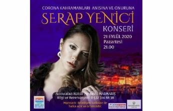 Marmaris'te Sağlık Kahramanları İçin Konser Düzenlenecek