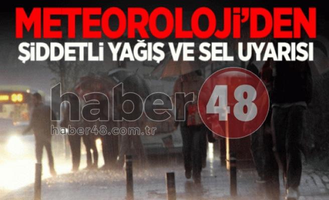 Muğla'da Anonsla Sel Uyarısı!