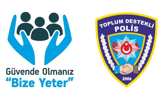 POLİSLERDEN ÇOCUKLAR İÇİN 'FARKINDAYIM, ALDANMAM'