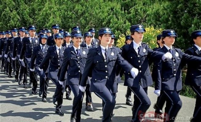 GENÇLERİ SEVİNDİREN AÇIKLAMA: 2 BİN 500 POLİS ALIMI YAPILACAK