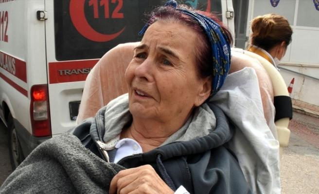 BODRUM'DA YAŞAYAN FATMA GİRİK HASTANEYE KALDIRILDI