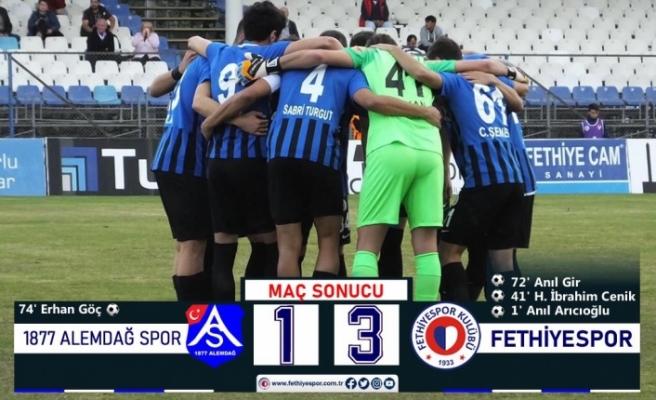 Fethiyespor Durdurulamıyor: 3 Gol 3 Puan!