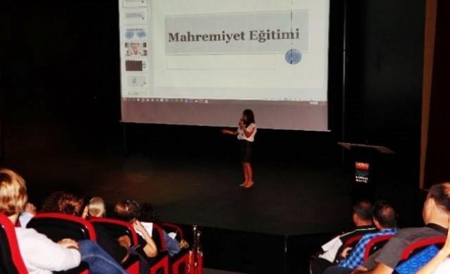MARMARİS'TE ÇOCUK İSTİSMARI SEMİNERİ
