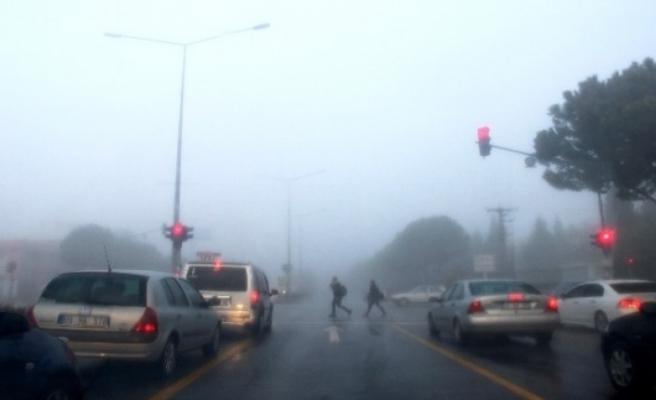 Muğla'da Sis Bulutları Zor Anlar Yaşattı