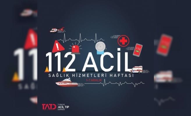 112 Acil Sağlık Hizmetleri Haftası Kutlanıyor
