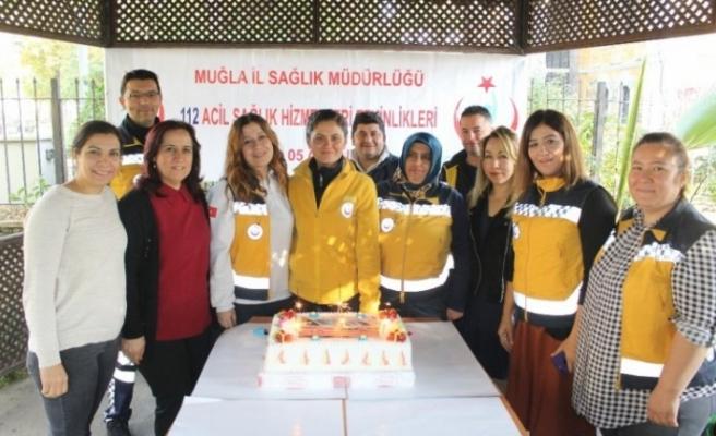 Acil Tıbbi Teknisyenleri 112 Haftası'nı Kutladı