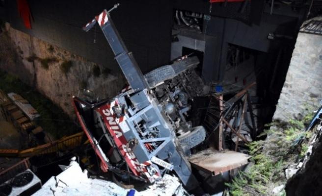 Bodrum'da Korkunç Kaza: Vinç Devrildi 1 Ölü 3 Yaralı!