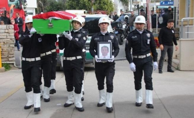 Bodrum'da Yaşamını Yitiren Polis Memuru Defnedildi