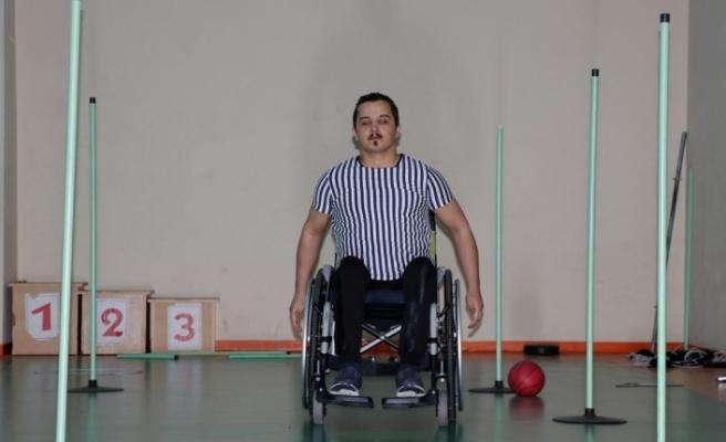 Hakan'ın Azmi Engelli Sporculara İlham Oluyor