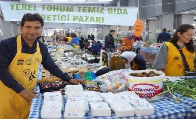 Marmaris'te Yerel Tohum Temiz Gıda Üretici Pazarı 2 Yaşında!