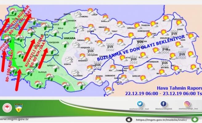Meteoroloj Uyardı: Muğla'ya Kuvvetli Yağış Geliyor!