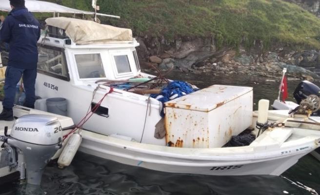 Milas'ta Fırtınada Denize Açılan Bir Balıkçı Kayboldu