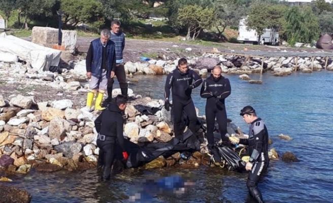Milas'ta Kaybolan Balıkçının Cesedine Ulaşıldı