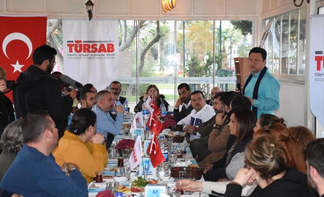 TÜRSAB'ın Bodrum Üyeleri Bir Araya Geldi