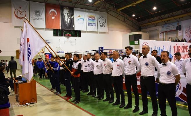 TÜRKİYE YILDIZ ERKEKLER FERDİ BOKS ŞAMPİYONASI MARMARİS'TE BAŞLADI