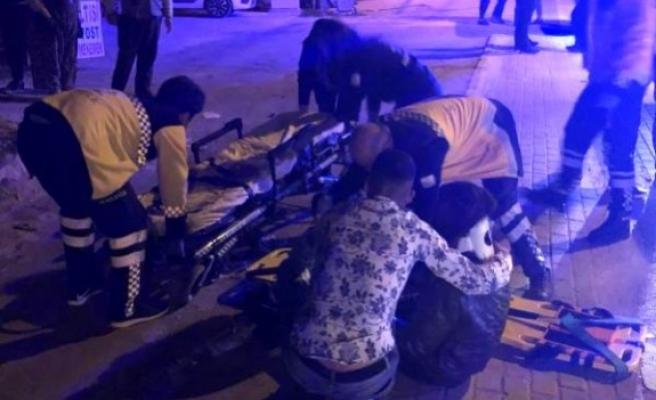 Alkollü Sürücü Kaza Yaptı 2 Kardeş Yaralandı