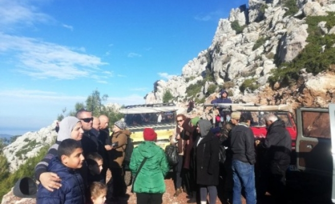Araplar Marmaris'in Doğal Güzelliklerini Keşfetti