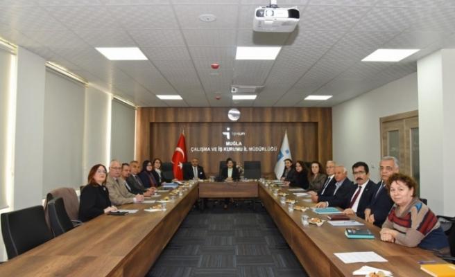 İl İstihdam ve Mesleki Eğitim Kurulu Toplantısı Gerçekleştirildi