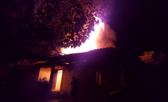Köyceğiz'de Bir Evde Yangın Çıktı!