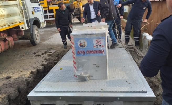 Ortaca'da Yeraltı Çöp Konteyneri Dönemi