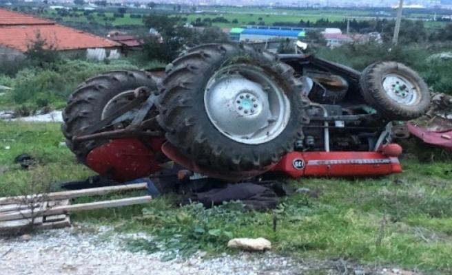 Traktör Kazasında 1 Kişi Hayatını Kaybetti