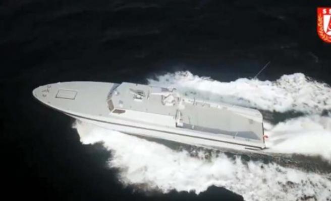 Yeni SAT Botu Deniz Kuvvetleri'ne Teslim Edildi