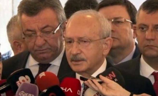 """Kılıçdaroğlu: """"Söz Veriyorum Şehitler Tepesi Boş Kalacak"""""""