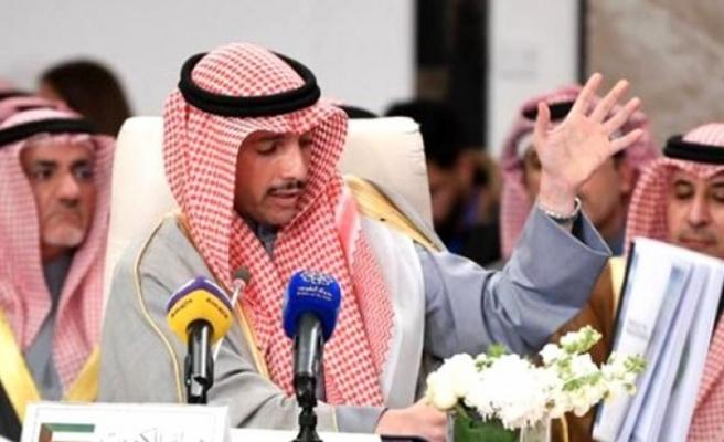 Kuveyt Parlamento Başkanı 'Yüzyılın Anlaşması' Metnini Çöpe Attı!