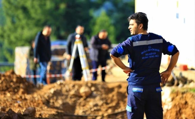 Menteşe Evlerinde 3 Bin Kişi Kanalizasyona Kavuşuyor