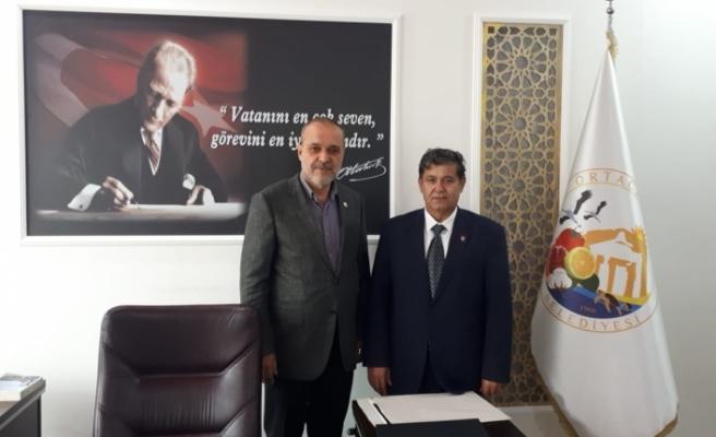 Orhan Gürbüz Başkan Alim Uzundemir'i Ziyaret Etti!