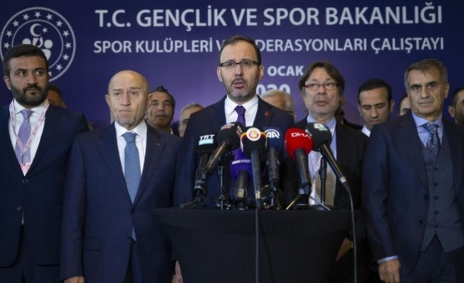 Bakan Kasapoğlu Duyurdu: Spor Ligleri Ertelendi!