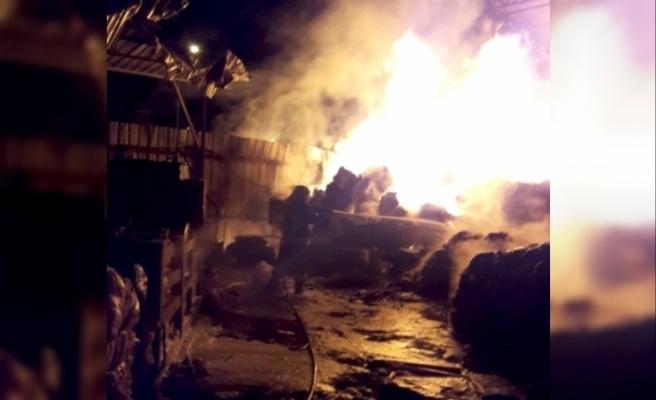 Fethiye'de Hurdalıkta Çıkan Yangın Korkuttu