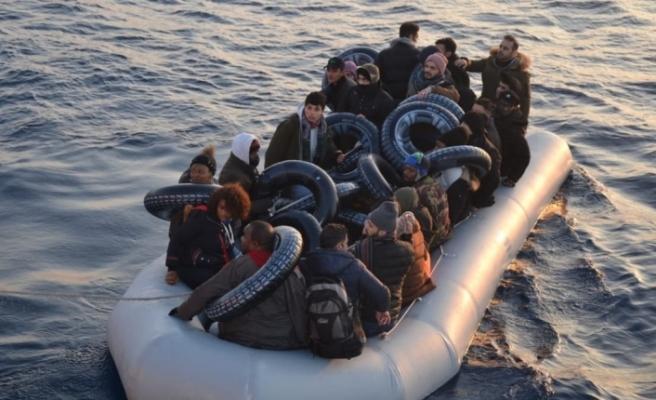 Türk Kara Sularına Geri İtilen 34 Sığınmacı Kurtarıldı
