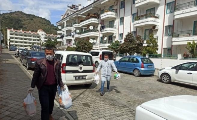 Vefa Koordinasyon Grubu Muğla'da 2700 Aileye Ulaştı