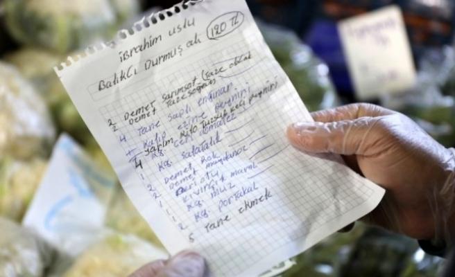 Yabancılar, Yaşlı Türk Komşuları için Alışveriş Yaptı