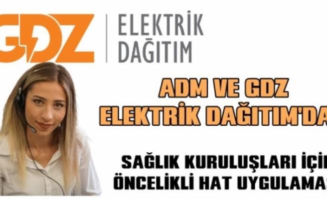 """ADM ve GDZ Elektrik Dağıtım'dan """"Öncelikli Hat"""" Uygulaması"""