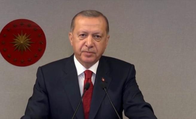 Erdoğan'dan Hakim ve Savcılara: Para Kazanmak İsteyen Varsa Yanlış Meslek Seçmiştir