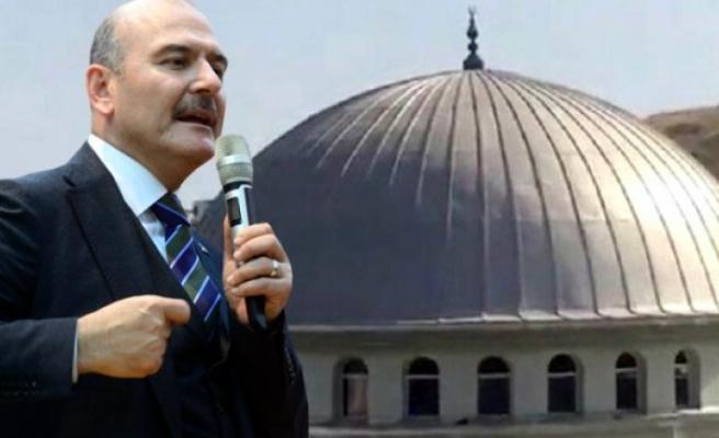 """Soylu: """"Minareden Müzik Çalanı Bulup Cami Dibinde Ezan Dinleteceğiz"""""""