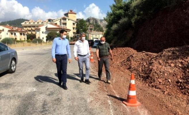Marmaris Belediyesi Yol Yapım Çalışmalarına Hız Verdi