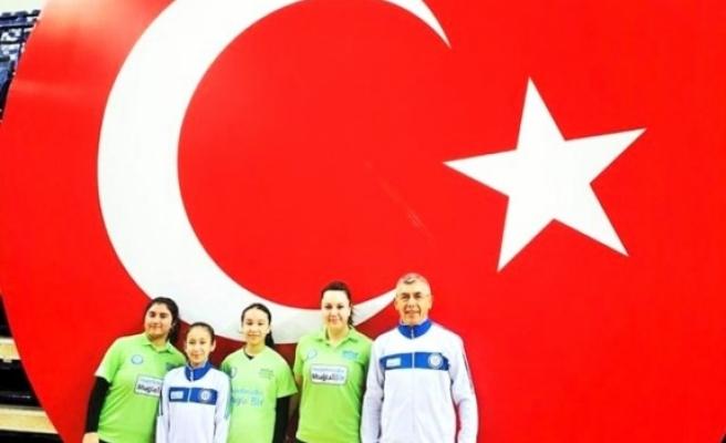 Muğla Büyükşehir Belediye Kadın Masa Tenisi Takımı 2. Lig'de